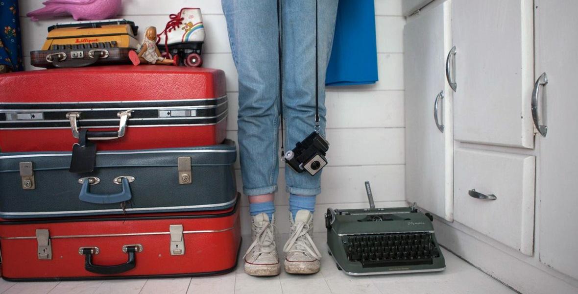 Miss Pigeon Vintage with Pink Pigeon
