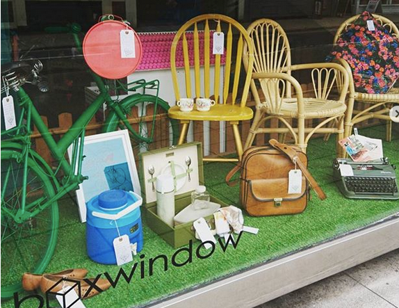 Window at Cafe Indie in Scunthorpe